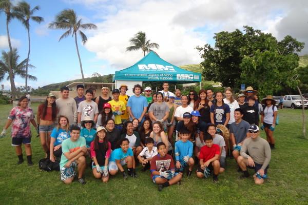 Citizen Science Day Huki Volunteers