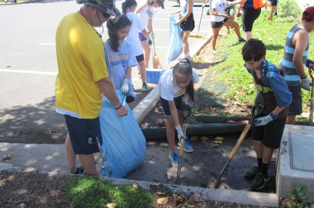 Kuliouou Rain Garden Restoration With Maryknoll